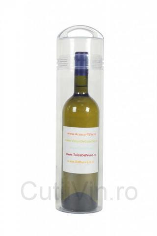 Cilindru plastic pentru sticla vin Lumia