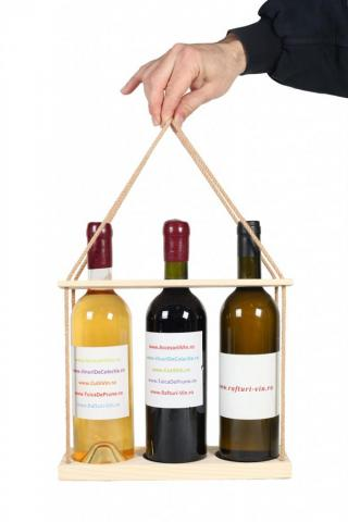 Suport sticle vin TRIO