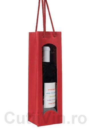 Punga carton 1 sticla Rot