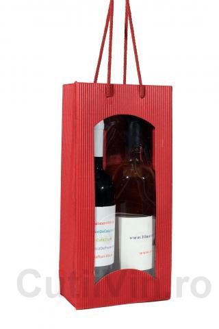 Punga carton 2 sticle Rot