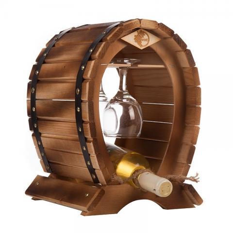 Raft lemn Minibar
